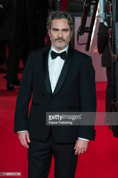 Joaquin Phoenix attends the EE British Academy Film Awards ceremony at the Royal Albert Hall on 02 February, 2020 in London, England.- PHOTOGRAPH BY...