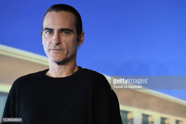 Joaquin Phoenix attends the photocall for The Sister Brothers Les Freres sisters on September 4 2018 in Deauville France