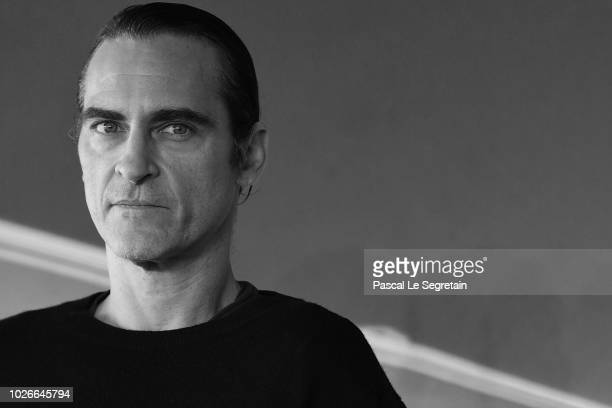Joaquin Phoenix attends the photocall for 'The Sister Brothers' 'Les Freres sisters' on September 4 2018 in Deauville France
