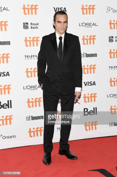 Joaquin Phoenix attends the 'The Sisters Brothers' premiere during 2018 Toronto International Film Festival at Princess of Wales Theatre on September...