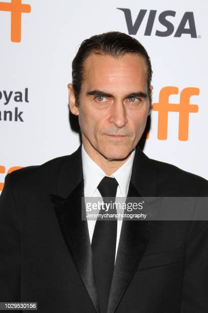 Joaquin Phoenix attends the The Sisters Brothers Premiere during the 2018 Toronto International Film Festival at Princess of Wales Theatre on...