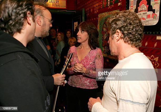 Joaquin Phoenix, David Fishof, Julie Friedman, and Roger Daltrey of The Who