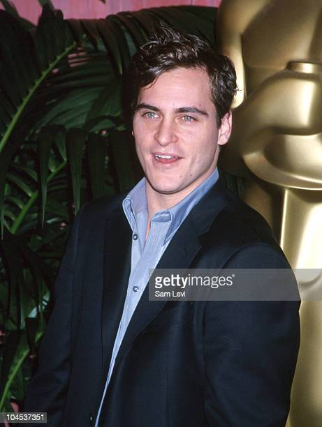Joaquin Phoenix during The 73rd Annual Academy Awards Nominees Luncheon at Beverly Hilton Hotel in Beverly Hills California United States