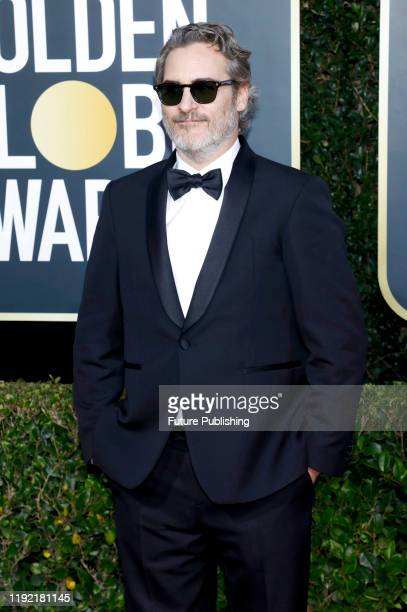 STATES JANUARY Joaquin Phoenix photographed on the red carpet of the 77th Annual Golden Globe Awards at The Beverly Hilton Hotel on January 05 2020...