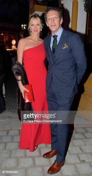 Joaquin Prat and Alejandra Prat attend Yeyes Manzanares and Guillaume Cazelle's wedding at Basilica de La Macarena on November 11 2017 in Seville...
