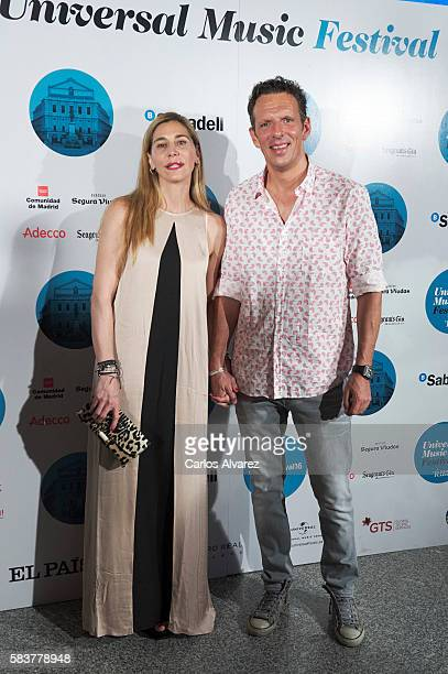 Joaquin Prat attends Diana Krall concert photocall at Royal Theater on July 27 2016 in Madrid Spain