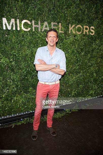 Joaquin Prat attends Michael Kors new store opening on May 24 2012 in Madrid Spain
