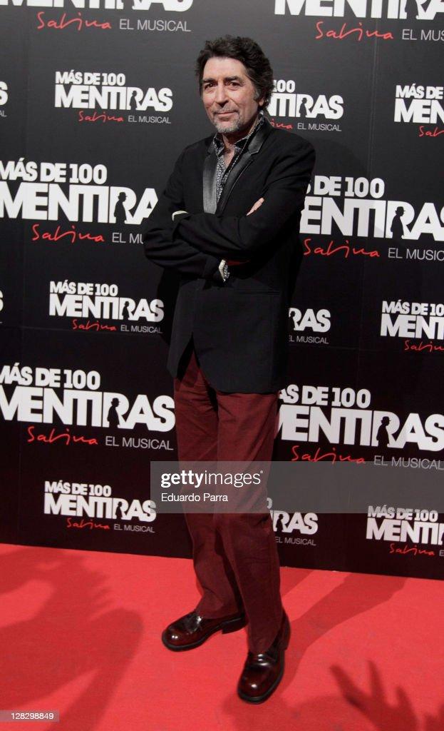 'Mas De 100 Mentiras' - Sabina Musical Theatre Premiere in Madrid