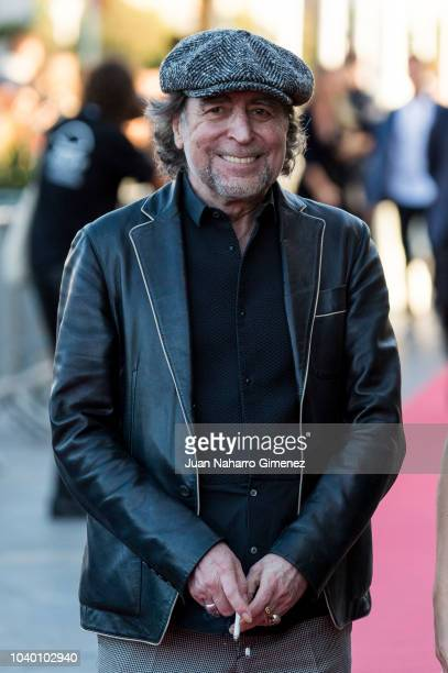 Joaquin Sabina attends the 'Tiempo Despues' premiere during the 66th San Sebastian International Film Festival on September 25 2018 in San Sebastian...