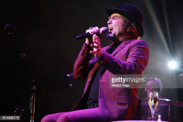 Joaquin Sabina performs as part of his concert 'Lo Niego Todo' at Coliseo Jose M Agrelot on February 4 2018 in San Juan Puerto Rico
