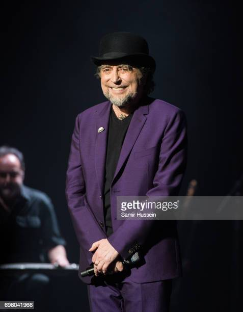 Joaquin Sabina performs at Royal Albert Hall on June 14 2017 in London England