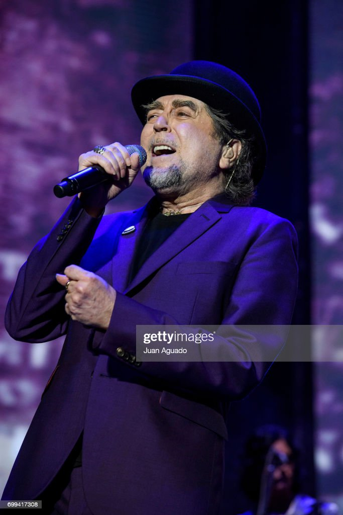 Joaquin Sabina Performs In Concert in Madrid