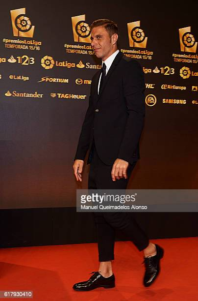 Joaquin Sanchez attends the LFP Soccer Awards Gala 2016 at Palacio de Congresos on October 24 2016 in Valencia Spain