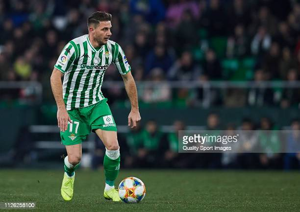 Joaquin Sanchez of Real Betis in action during the Copa del Rey Quarter Final match between Real Betis and RCD Espanyol at Estadio Benito Villamarin...