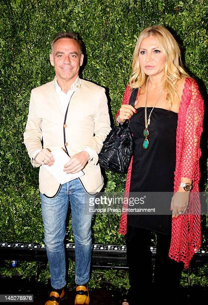 Joaquin Torres and Cristina Tarrega attend 'Michael Kors' new store opening on May 24 2012 in Madrid Spain