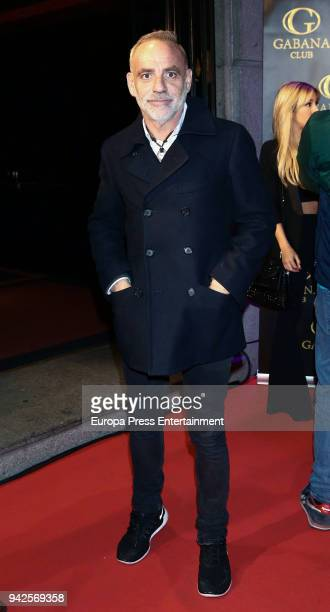 Joaquin Torres attends the Alejandra Rubio's birthday photocall' at Gabana disco on April 5 2018 in Madrid Spain