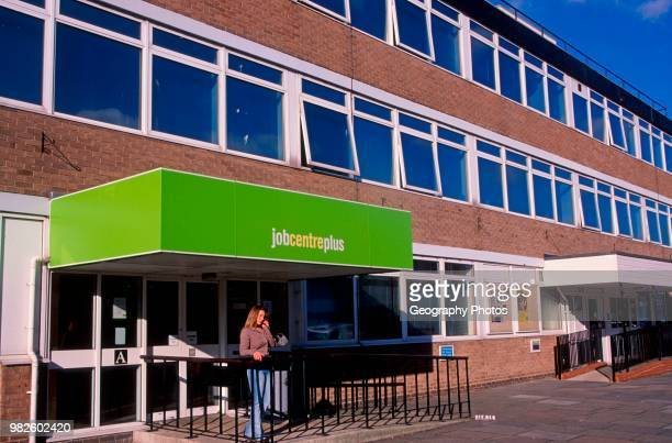 Job Centre Plus British high street Clacton Essex England