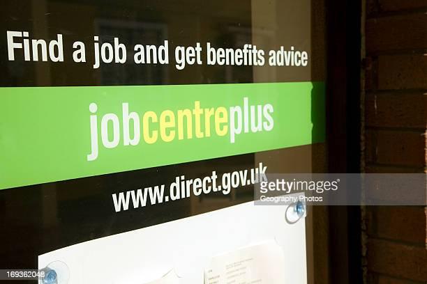Job Centre plus office Woodbridge Suffolk England