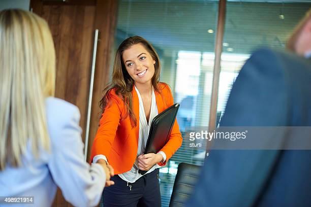 Entretien d'embauche premières impressions