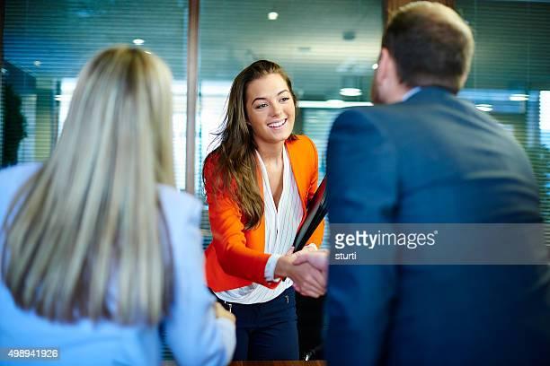 Entrevista de trabajo las primeras impresiones