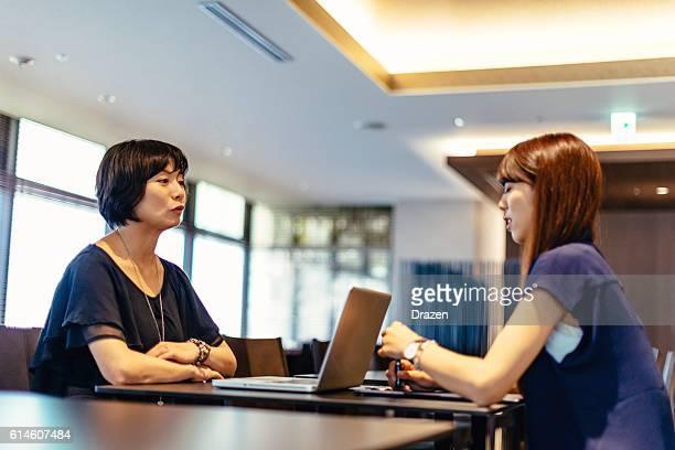 Job interview in Japan