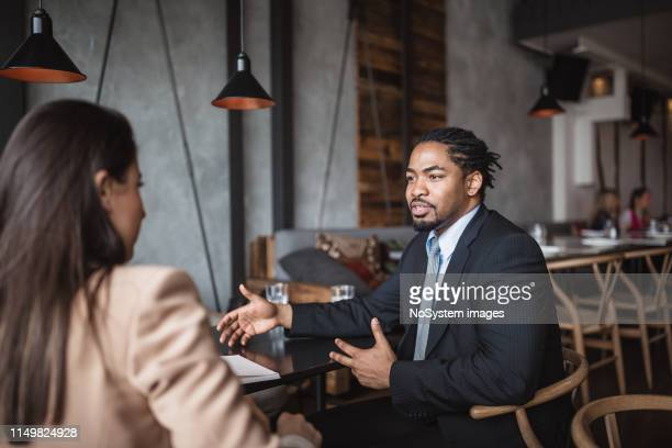 job interview - recruiter stock pictures, royalty-free photos & images