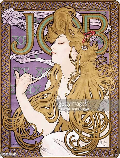 Job Poster by Alphonse Marie Mucha