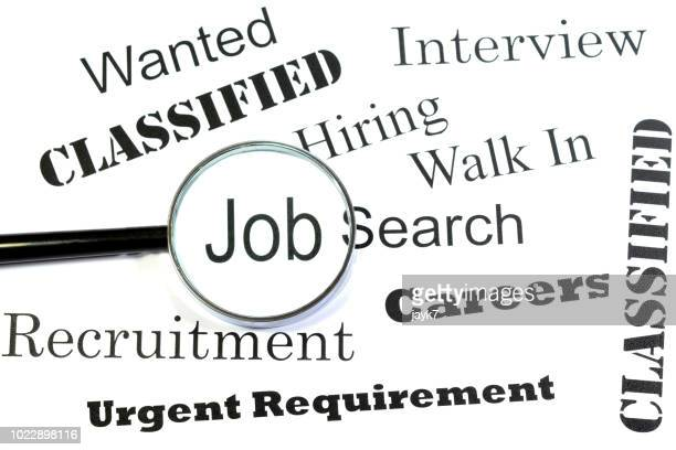 job search - help wanted sign stock photos and pictures