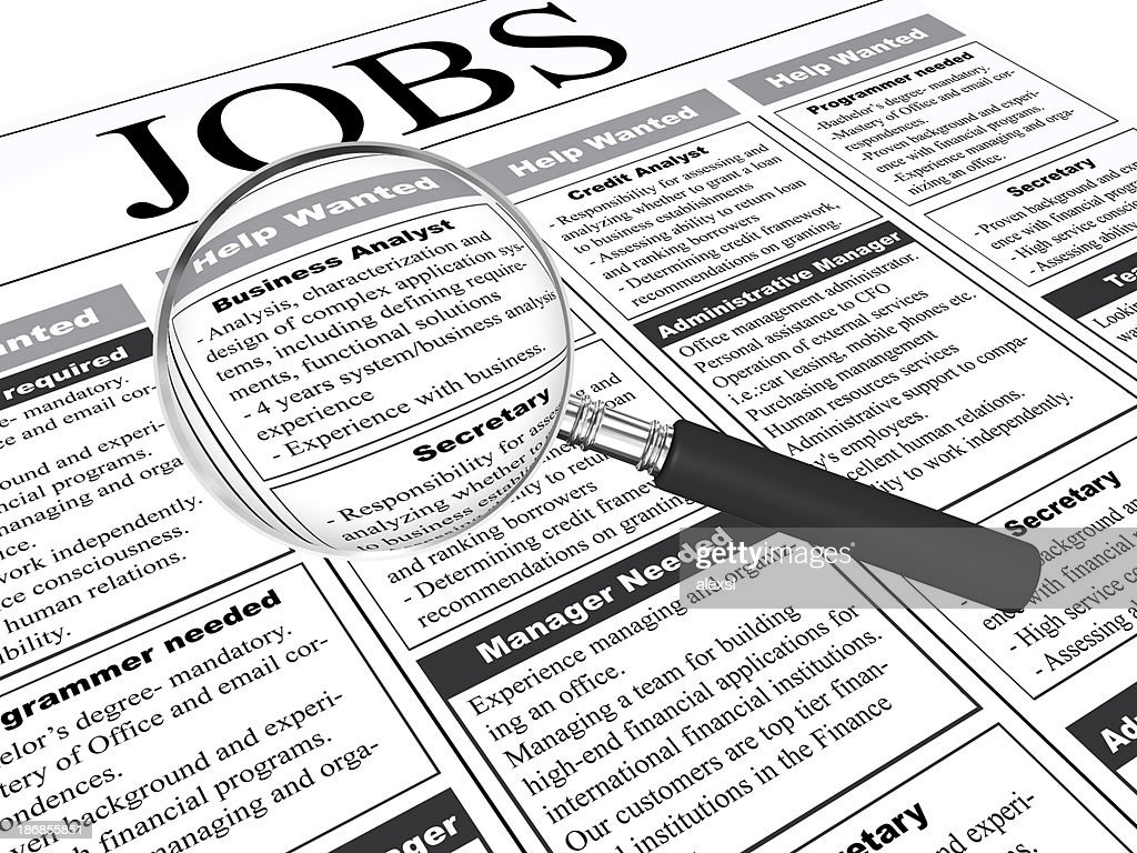 Job Search High Res Stock Photo Getty Images
