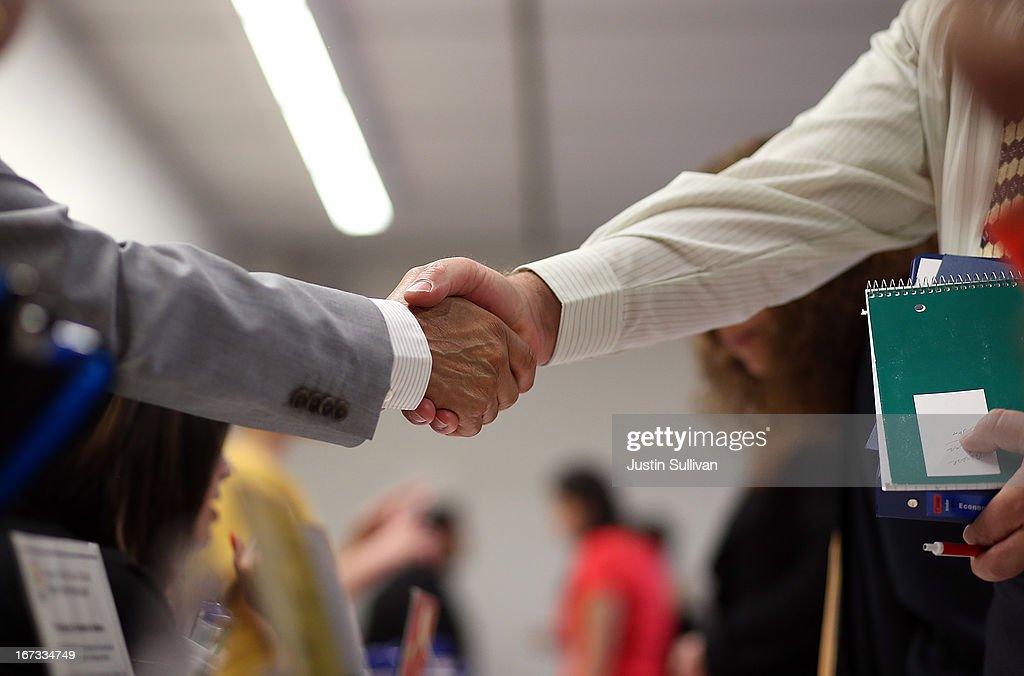 Job Fair Held For Education Positions : News Photo