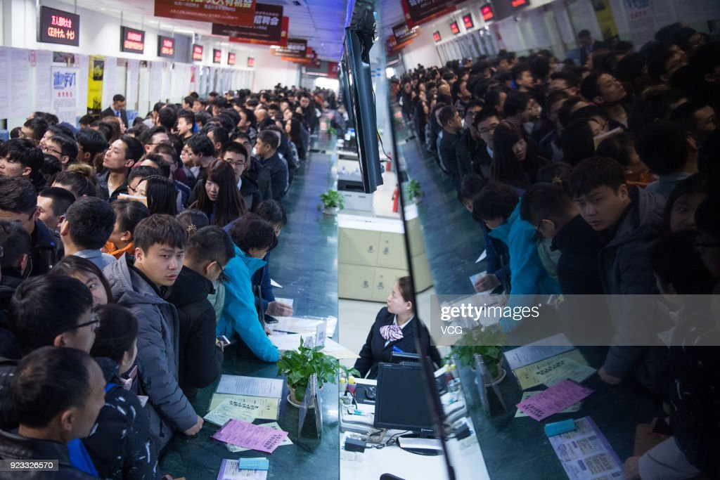 Taiyuan Holds Job Fair For Graduate Students