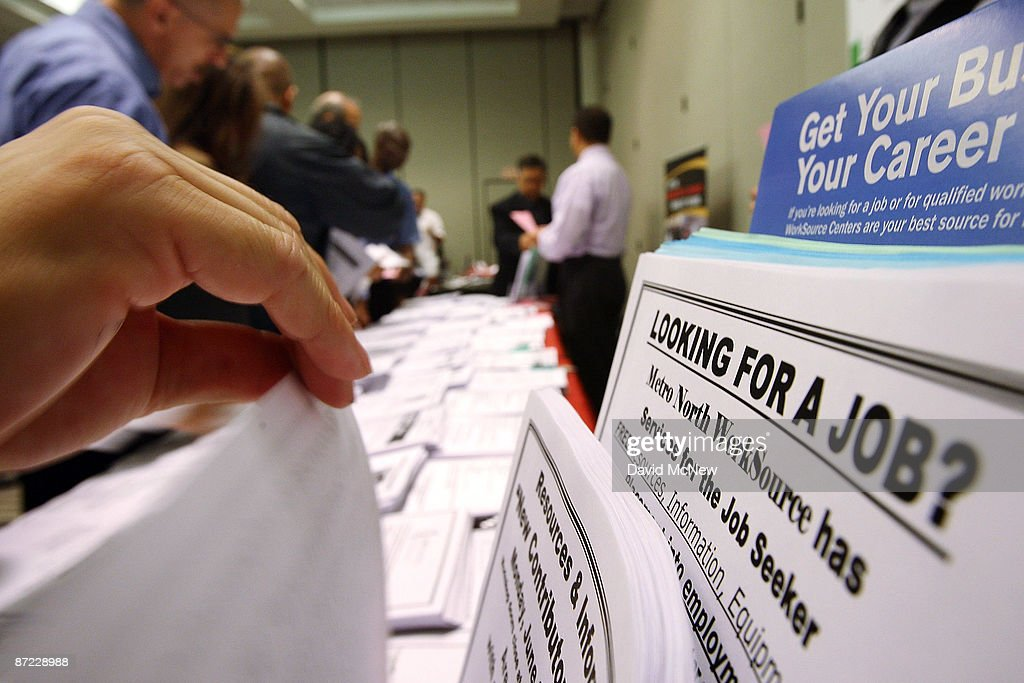 Weekly Unemployment Claims Rise Higher Than Expected : Nieuwsfoto's