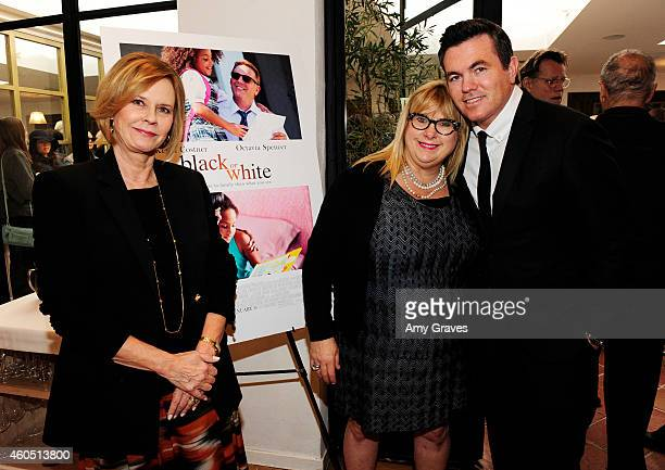 JoBeth Williams Colleen Camp and Tucker Tooley attend a special luncheon for Kevin Costner and Mike Binder hosted by Colleen Camp for the film BLACK...