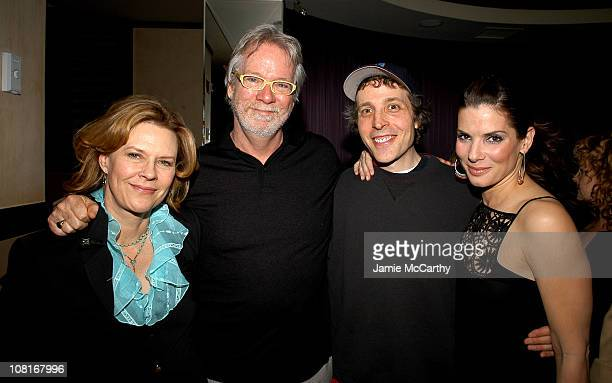 JoBeth Williams John Pasquin director Marc Lawrence writer/producer and Sandra Bullock