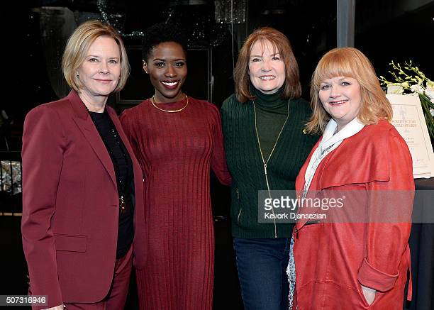 JoBeth Williams SAG Awards Committee Chair SAGAFTRA Foundation Board President actress Sola Bamis Kathy Connell SAG Awards Executive Producer and...