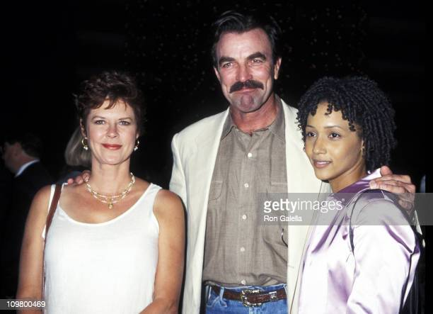 JoBeth Williams Tom Selleck and Rebekah Johnson during Screening of 'Ruby Jean Joe' at DGA Theater in West Hollywood California United States