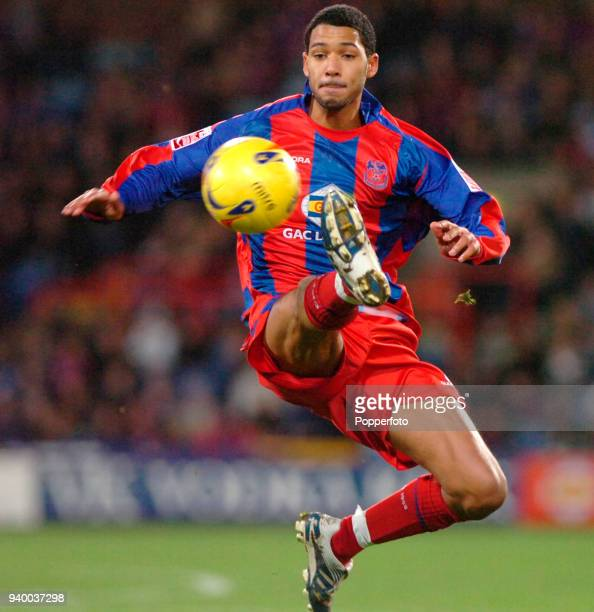 Jobi McAnuff of Crystal Palace in action during the Championship match between Crystal Palace and Queens Park Rangers at Selhurts Park in London on...
