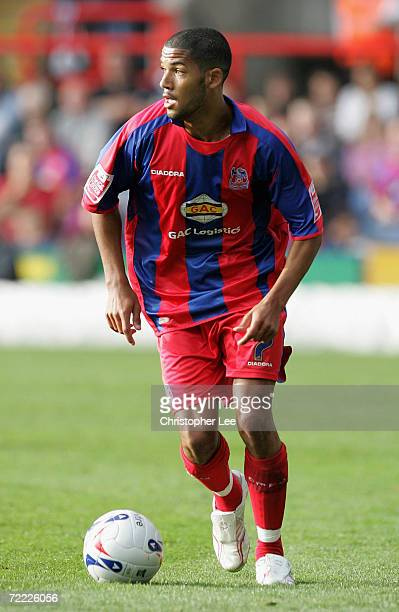 Jobi McAnuff of Crystal Palace in action during the CocaCola Championship match between Crystal Palace and Cardiff City at Selhurst Park on October...