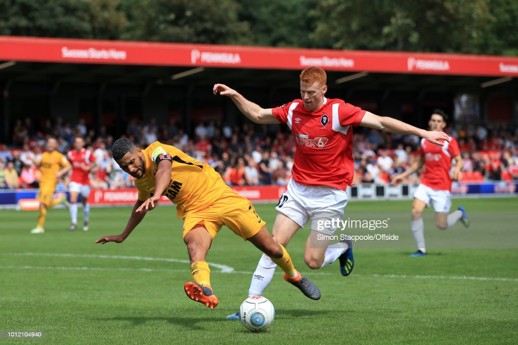 Salford City v Leyton Orient - Vanarama National League : Nachrichtenfoto