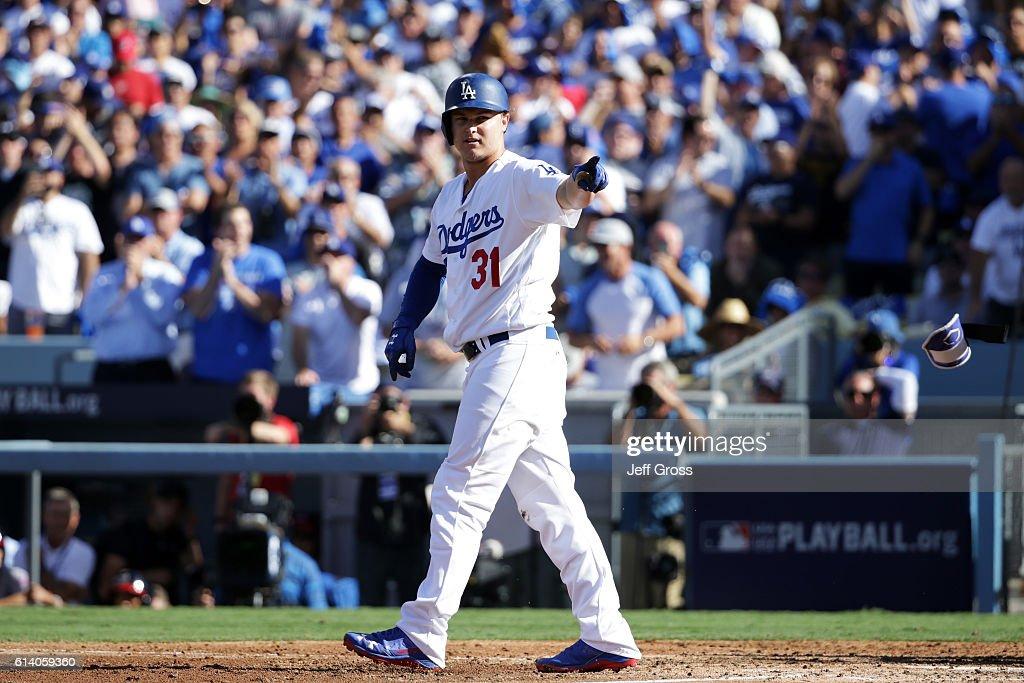 Division Series - Washington Nationals v Los Angeles Dodgers - Game Four
