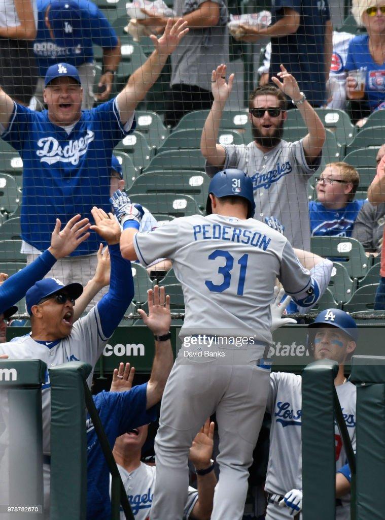 Los Angeles Dodgers v Chicago Cubs - Game One