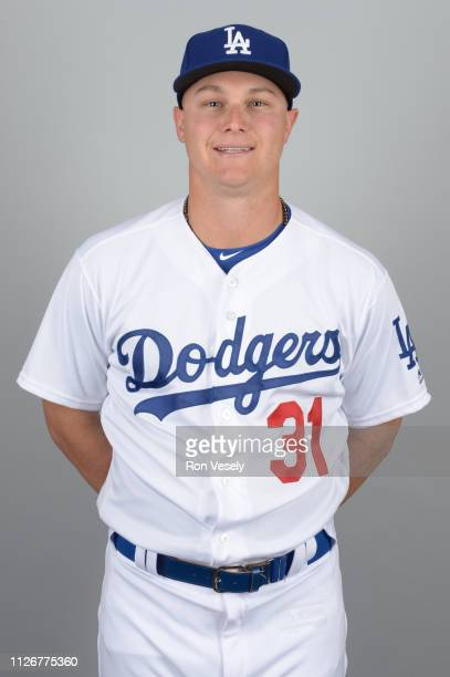Joc Pederson of the Los Angeles Dodgers poses during Photo Day on Thursday February 20 2019 at Camelback Ranch in Glendale Arizona
