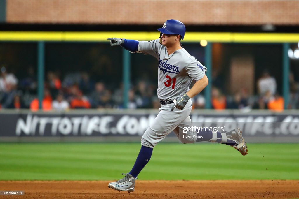 World Series - Los Angeles Dodgers v Houston Astros - Game Four : News Photo