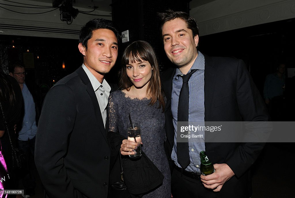 Jocelin Donahue (C) attends Tribeca Film Festival 2012 After-Party For Free Samples, Hosted by Heineken on April 21, 2012 in New York City.