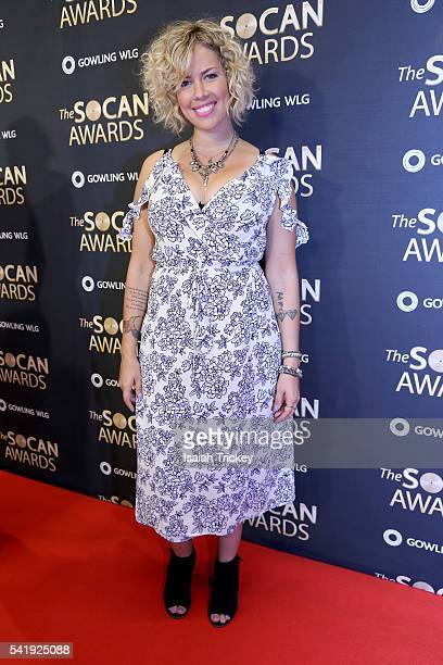 Jocelyn Alice arrives at The 27th Annual SOCAN Awards Gala at the Sheraton Centre Hotel on June 20 2016 in Toronto Canada