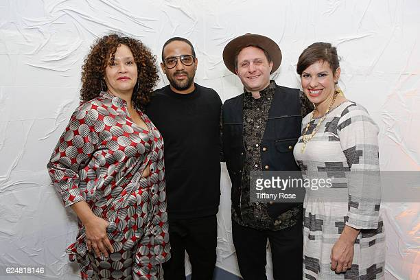 Jocelyn Cooper and Matthew Morgan of Afropunk and Rick Farman and Annie Farman or Superfly attend the Red Bull Sound Select 30 Days in LA AFROPUNK...