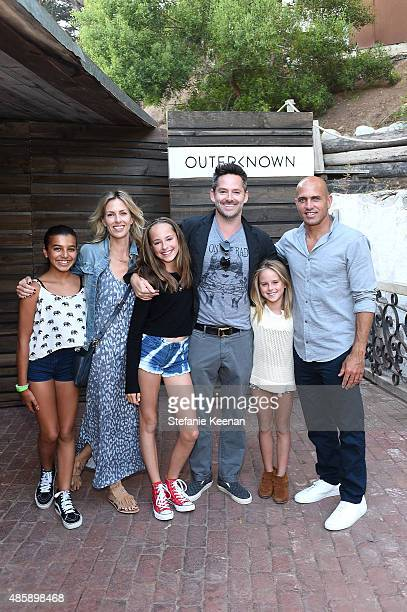 Jocelyn Cooper Scott Cooper Kelly Slater and children attend Kelly Slater John Moore and Friends Celebrate the Launch of Outerknown at Private...