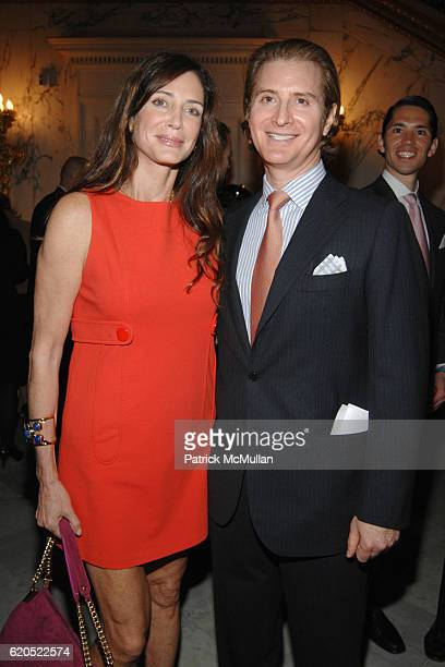 Jocelyn Javits and Eric Javits attend Madison Square Boys Girls Club Purses Pursenalities Luncheon at The Metropolitan Club on September 23 2008 in...