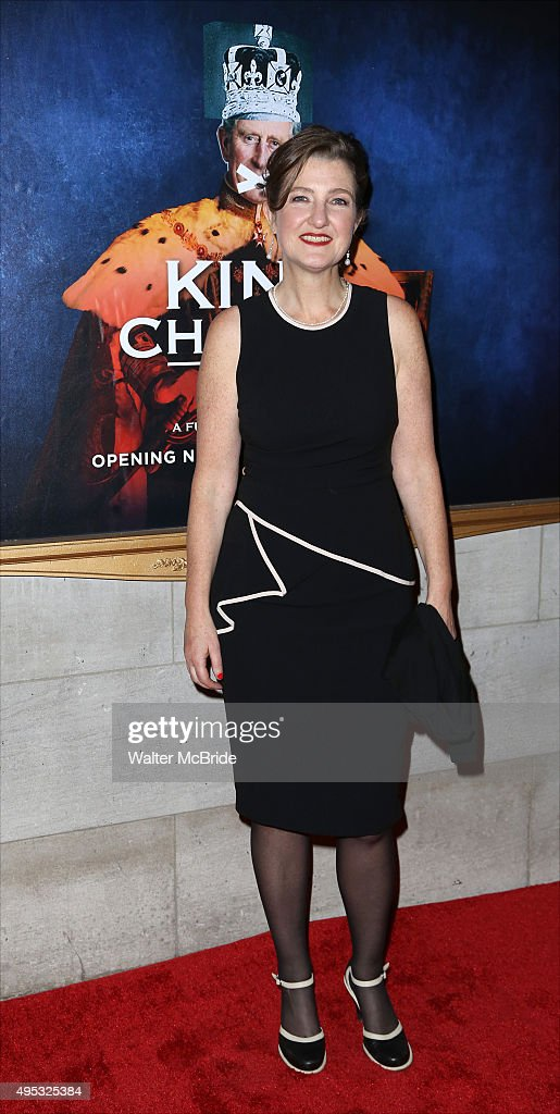 Jocelyn Pook attends the Broadway Opening Night performance of 'King Charles III' at the Music Box Theatre on November 1, 2015 in New York City.