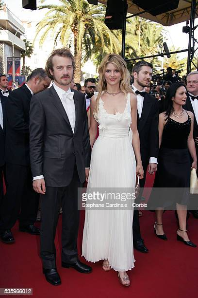 Jocelyn Quivrin and Alice Taglioni at the premiere of 'Star Wars Episode III Revenge of the Sith' during the 58th Cannes Film Festival